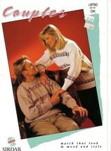 Sirdar Knitting Pattern #c8790  Couples sizes 30 to 44 - $4.00