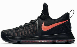 "NIKE ZOOM KD IX 9 PRM ""AUNT PEARL BREAST CANCER"" BLACK SIZE 9 NEW (88179... - $144.55"