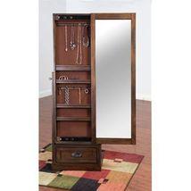 Sunny Designs Savannah Jewelry Cabinet with Sliding Door - $515.00