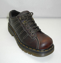 Dr Martens Brown Leather 9764 Lace-Up Oxfords Made in England-Women's 7 ... - $33.20