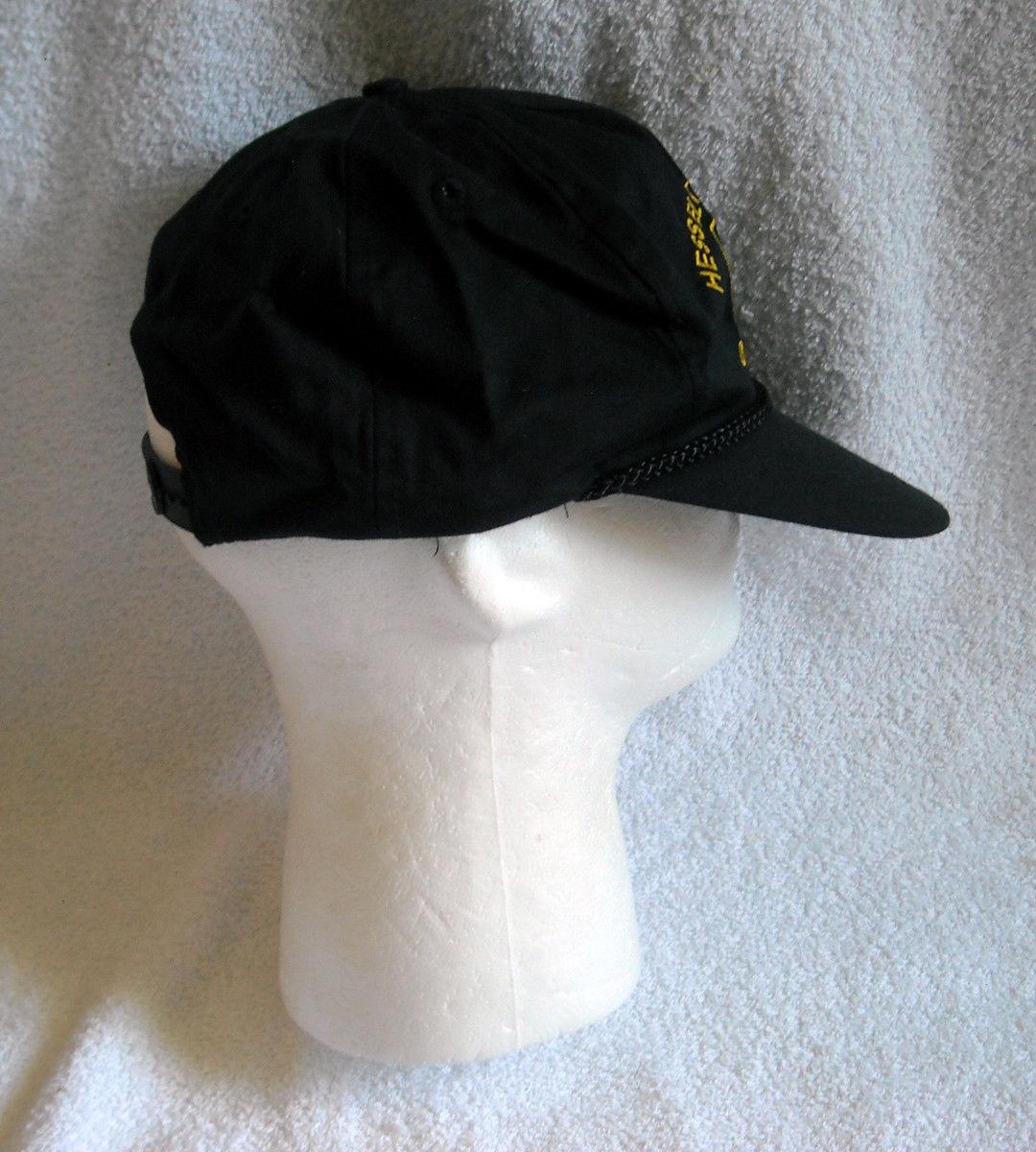 ... Adult Hessel Tractor Oregon John Deere Baseball Hat snap back black ...