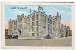 Oklahoma City High School OK 1920c postcard - $5.94