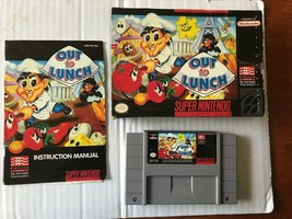 Out to Lunch Super Nintendo CIB - $57.99