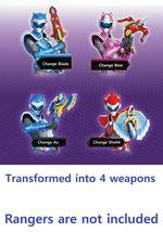 Miniforce Change Weapon Super Dinosaur Power Transformation Toy Action Figure image 5