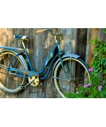 Western Flyer Vintage Bicycle by Floyd Snyder Cycling Vintage Bike Canva... - $246.51