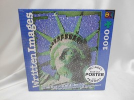 2003 Buffalo Games The Statue Of Liberty 1000 Piece Jigsaw Puzzle Factory Sealed - $19.79