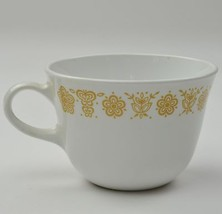 Corning Corelle Livingware Butterfly Gold Flat Cup Closed Handle Vintage... - $4.49