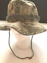 NEW US Military Air Force  Hot Weather Sun Hat  Camo Size 6 3/4 - $8.90