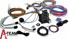 21 Circuit Street Hot Rat Rod Custom Universal Color Wiring Wire Kit XL WIRES image 2
