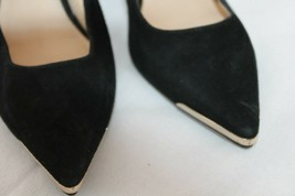 Nine West Mastic Pointed Toe Classic Pumps Size 5 M Black Beautiful Shoes - $24.75