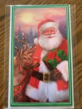 Santa Christmas gift card holder card - $5.50