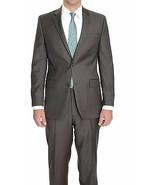 Alfani Mens Blazer Sz 42S Short Charcoal Gray Striped Business Slim Fit ... - $98.99