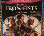 The Man With the Iron Fists: Uncut (2-Disc Blu-ray/DVD, 2013)+Embossed Slipcover