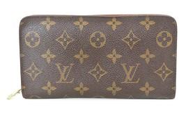 Auth LOUIS VUITTON Porte Monnaie Zippy Monogram Long Wallet #38039C - $239.00