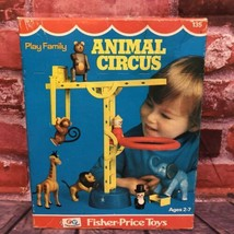 NEW Vintage 1973 Fisher Price Little People Play Family Animal Circus 135 SEALED - $175.00