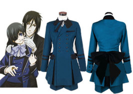 NEW Black Butler Ciel Phantomhive Cosplay Costume Cospaly Full Set Outfi... - $51.99