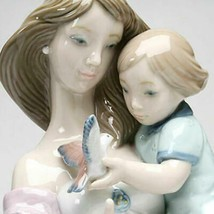 Lladro Look Mommy Retired Glazed Porcelain Figurine New 01008715 - $428.00