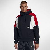 Nike Sportswear Re-issue Half-zip Men's Fleece Hoodie AQ2065 Large $80 - $75.95