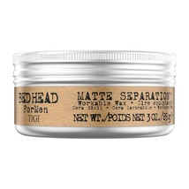 Real Tigi Bed Head For Men Matte Separation Workable Wax 85 gm Free Shipping - $27.41