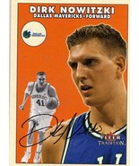 2000-01 Fleer Tradition Dirk Nowitzki Dallas Mavericks - $2.00
