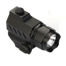 G01 LED Tactical Flashlight 2-Mode 210LM Pistol Handgun Torch Light WeatherProof - $16.31