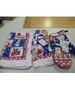 Pillsbury Doughboy Kitchen Towel and potholder lot of 16 ite - $10.99