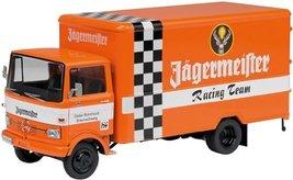 Schuco 1/43 Mercedes-Benz LP 608 box van Jagermeister Racing team (japan... - $110.12