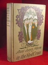 L. Frank Baum (Van  Dyne) AUNT JANE'S NIECES IN THE RED CROSS 1st .1915 ... - $126.13