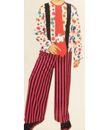 Rubies Childrens Hobo Clown Costume Sz  L (12-14) New - $19.79