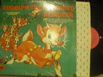 C 135 rudolph the rednosed reindeer the caroleer singers