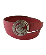 Rocawear Womens Red Leather Belt  L  Womens Accessories - $15.99