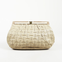 Judith Leiber Textured Leather Snakeskin Clutch - $140.00