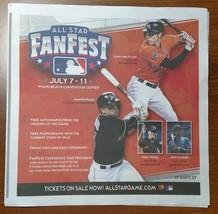 All-Star Fanfest Program - Miami Marlins - Fast Shipping - $1.97
