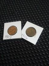 1906 & 1907 Indian Head - $10.09