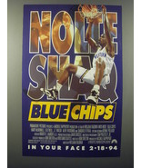 1994 Blue Chips Movie Advertisement - Nick Nolte and Shaquille O'Neal - $14.99