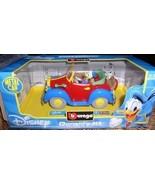 Disney Donald Duck convertible Die Cast Metal Italy car - $49.99