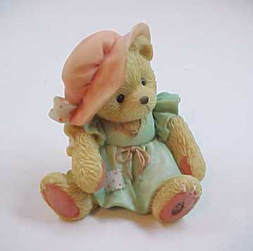 "Cherished Teddies ""A Mother's Love Bears All Things"" Bear Figurine - 1993"