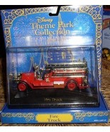 Disney Magic Kingdom Fire Truck Die Cast Metal  Mint - $48.37