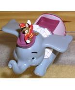 Disney Dumbo & Thimothy Die Cast Metal Thempark Ride - $58.04
