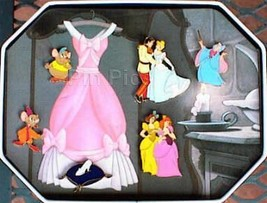 Disney Cinderella 6 Commemorative  Pin/Pins - $134.99