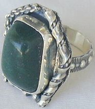 Green ring-hand made SR52 - $42.00
