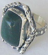 Green ring hand made sr52 1 thumb200