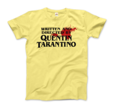 Written and Directed by Quentin Tarantino (with Blood) Artwork T-Shirt - $21.78+