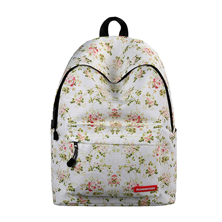 Primary image for floral large capacity backpack lady creative fashion waterproof shoulder bag-F7