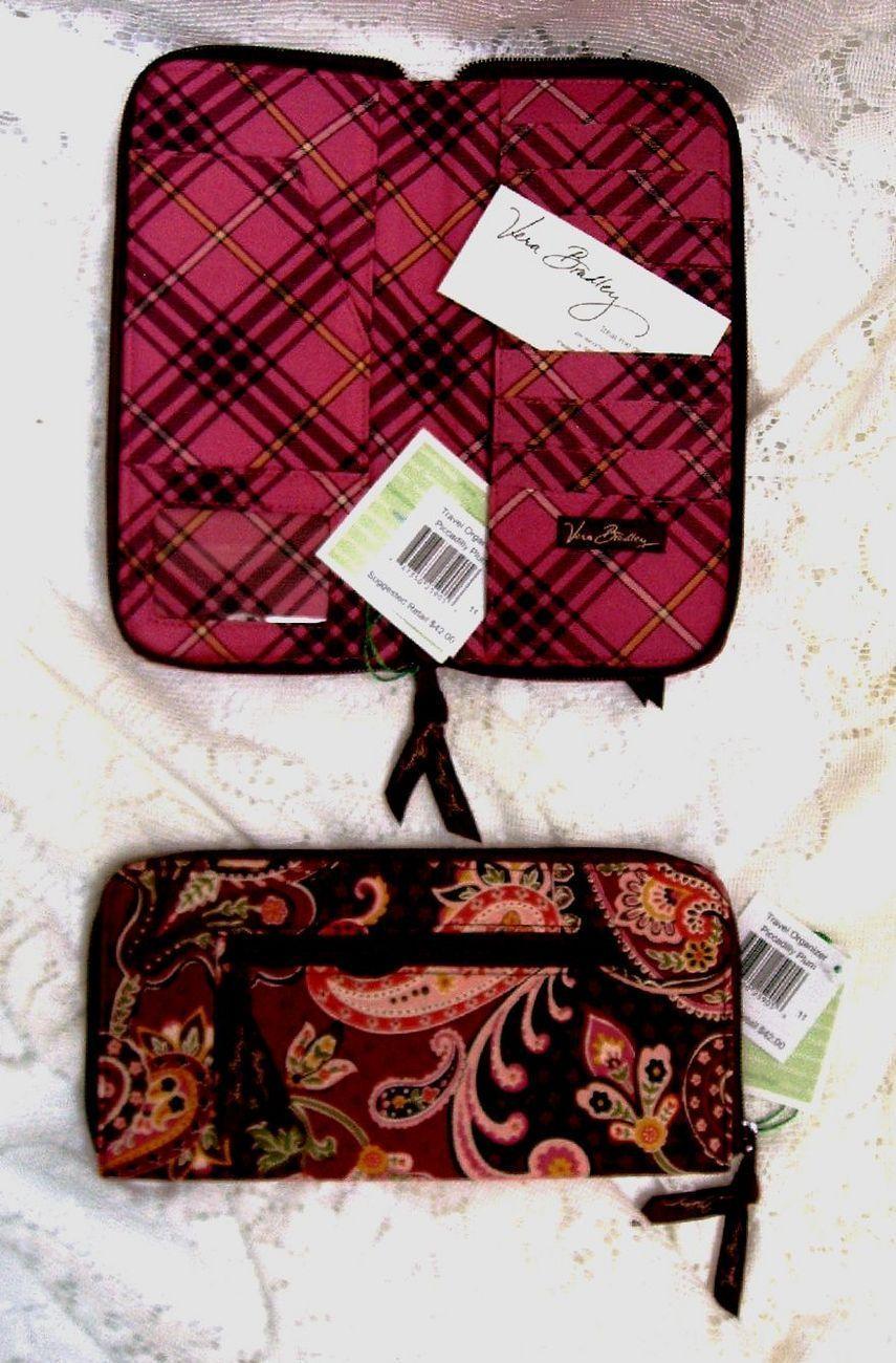 Vera bradley travel organizer piccadilly plum 019