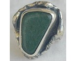 Green glass hand made ring sr46 thumb155 crop