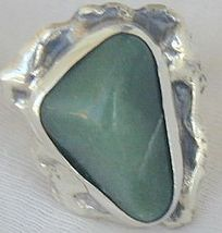 Green glass hand made ring sr46 3 thumb200