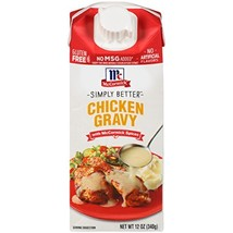 McCormick Simply Better Chicken Gravy, 12 oz Pack of 8 - $23.44