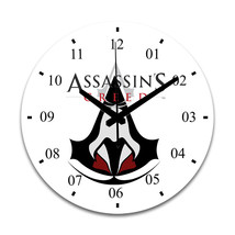 Assassin's Creed Home Bed Room Decor Round Wall Clock - $27.99