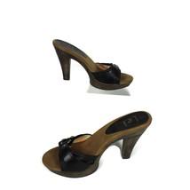 i e 7 brown L heels size A5qxqnZ